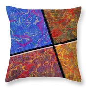 0580 Abstract Thought Throw Pillow