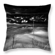 06 Niagara Falls Usa Rapids Series Throw Pillow