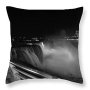 06 Niagara Falls Usa Series Throw Pillow