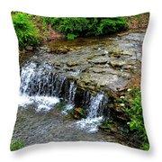 06 Three Sisters Island Throw Pillow
