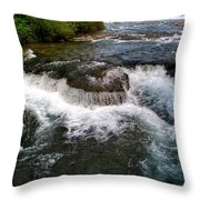 06 To The Three Sisters Island Throw Pillow