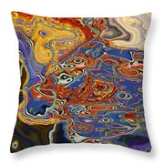 0615 Abstract Thought Throw Pillow