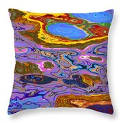 0620 Abstract Thought Throw Pillow