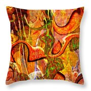 0625 Abstract Thought Throw Pillow