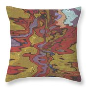 0637 Abstract Thought Throw Pillow