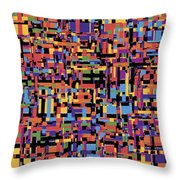 0649 Abstract Thought Throw Pillow