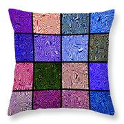 0663 Abstract Thought Throw Pillow