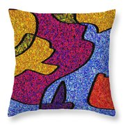 0665 Abstract Thought Throw Pillow