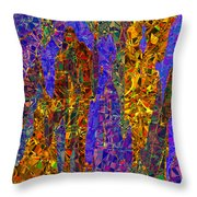 0666 Abstract Thought Throw Pillow