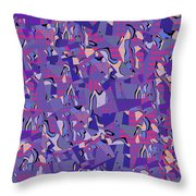 0667 Abstract Thought Throw Pillow