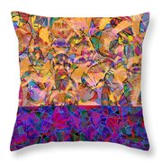 0672 Abstract Thought Throw Pillow
