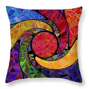 0677 Abstract Thought Throw Pillow