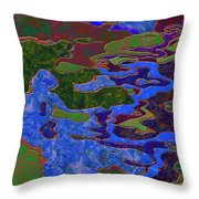 0681 Abstract Thought Throw Pillow
