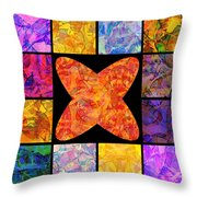 0690 Abstract Thought Throw Pillow