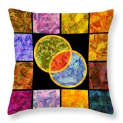 0691 Abstract Thought Throw Pillow