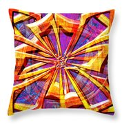 0692 Abstract Thought Throw Pillow