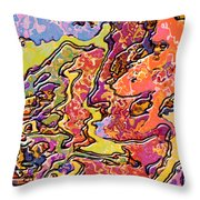 0693 Abstract Thought Throw Pillow