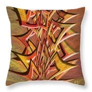 0695 Abstract Thought Throw Pillow