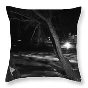 07 Niagara Falls Usa Rapids Series Throw Pillow