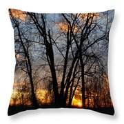 07 Sunset Throw Pillow