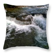 07 To The Three Sisters Island Throw Pillow