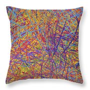 0705 Abstract Thought Throw Pillow