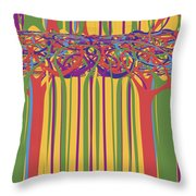 0706 Abstract Thought Throw Pillow