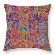 0707 Abstract Thought Throw Pillow