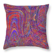 0708 Abstract Thought Throw Pillow