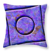 0711 Abstract Thought Throw Pillow