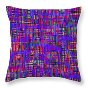 0714 Abstract Thought Throw Pillow