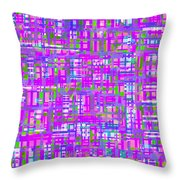 0716 Abstract Thought Throw Pillow