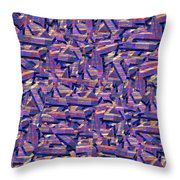 0724 Abstract Thought Throw Pillow