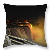 08 Niagara Falls Usa Series Throw Pillow