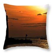08 Sunset Series Throw Pillow