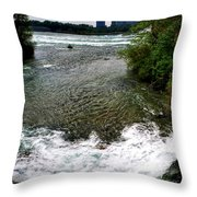 08 To The Three Sisters Island Throw Pillow