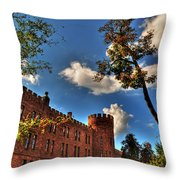 002 The 74th Regimental Armory In Buffalo New York Throw Pillow