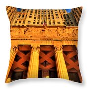 006 Wakening Architectural Dynamics Throw Pillow