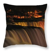 01 Niagara Falls Usa Series Throw Pillow
