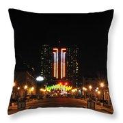 01 Seneca Niagara Casino Throw Pillow