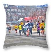 01 Shamrock Run Series Throw Pillow