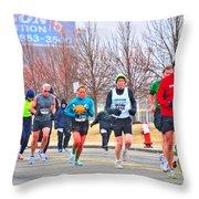 011 Shamrock Run Series Throw Pillow