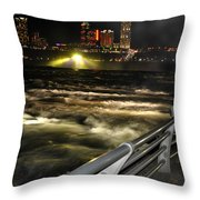 012 Niagara Falls Usa Rapids Series Throw Pillow