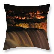 012 Niagara Falls Usa Series Throw Pillow