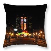 02 Seneca Niagara Casino Throw Pillow