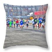 02 Shamrock Run Series Throw Pillow