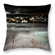 03 Niagara Falls Usa Rapids Series Throw Pillow