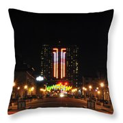 03 Seneca Niagara Casino Throw Pillow