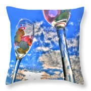 04 Love Is In The Air Throw Pillow