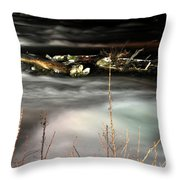 05 Niagara Falls Usa Rapids Series Throw Pillow